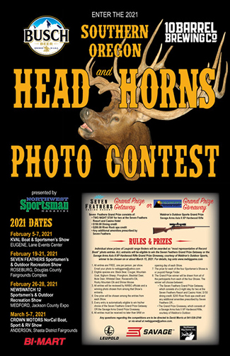 2021 Southern Oregon Sportsman Show Photo Contest