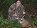 Lisa`s first deer!