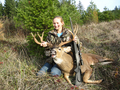 Kelseys first deer