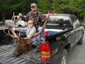 Opening day 2010 Cascade rifle elk season.  313 2/8