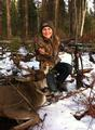 Kasidee Davis 12 years old - 1st buck